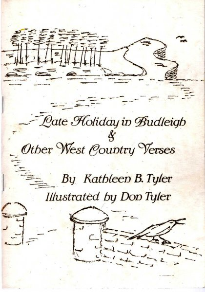 Image for Late Holiday in Budleigh & Other West Country Verses