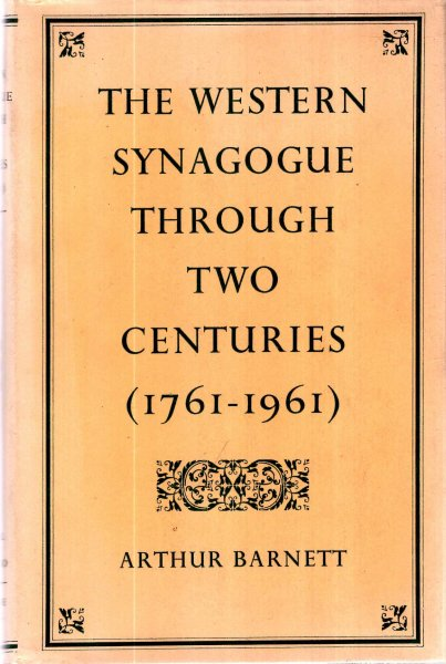 Image for The Western Synagogue Through Two Centuries (1761-1961)