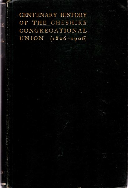 Image for A History of the Cheshire County Union of Congregational Churches