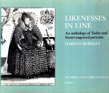 Image for Likenesses in Line : An Anthology of Tudor and Stuart Engraved Portraits
