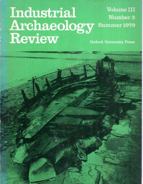 Image for Industrial Archaeology Review volume III, Number 3 : Summer 1979