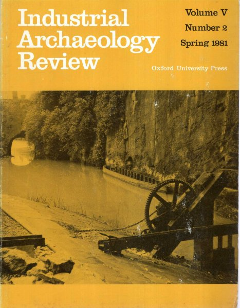 Image for Industrial Archaeology Review volume V, Number 3 : Spring 1981