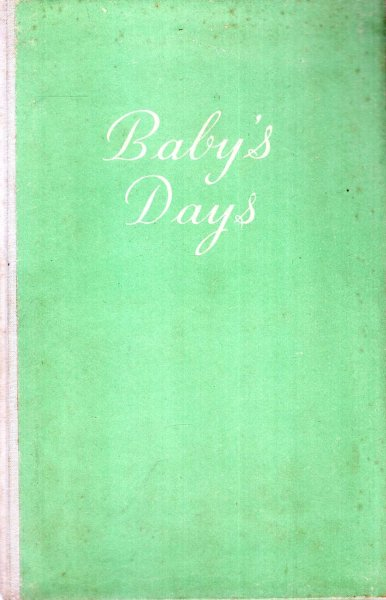 Image for Baby's Days [a book for recording key events]