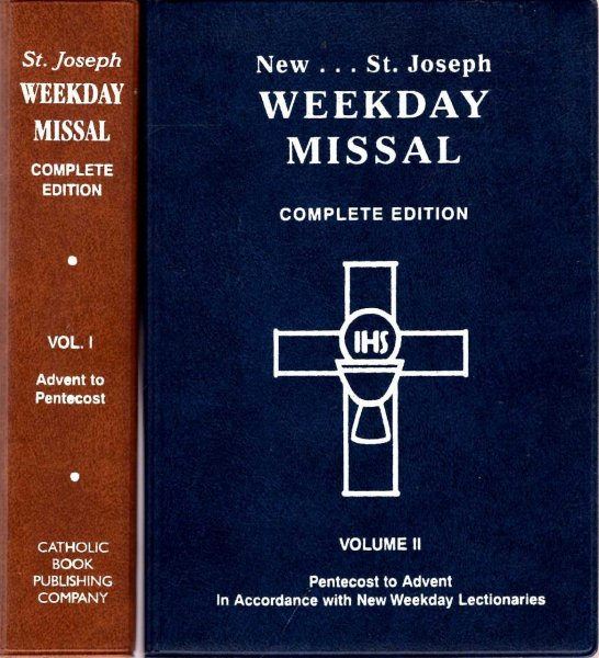 Image for New Saint Joseph Weekday Missal, complete edition (two volumes)