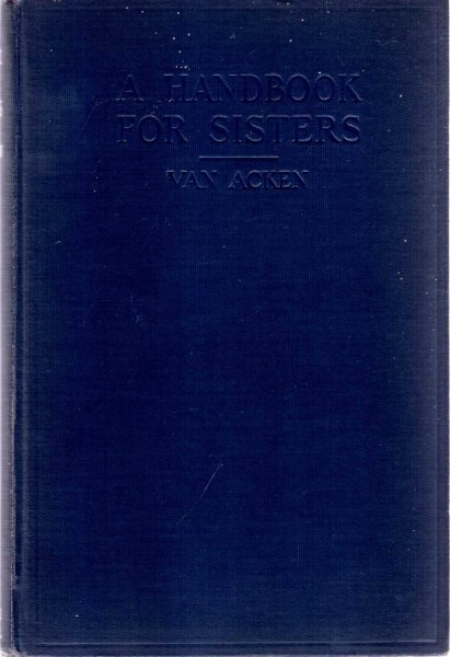 Image for A Handbook for Sisters