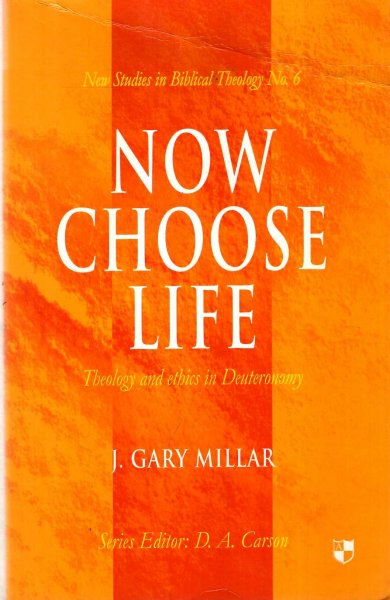 Image for Now Choose Life: Theology and Ethics in Deuteronomy