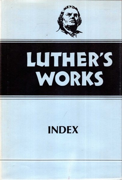 Image for Luther's Works. Volume 55: Index
