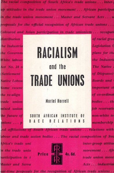 Image for Racialism and the Trade Unions