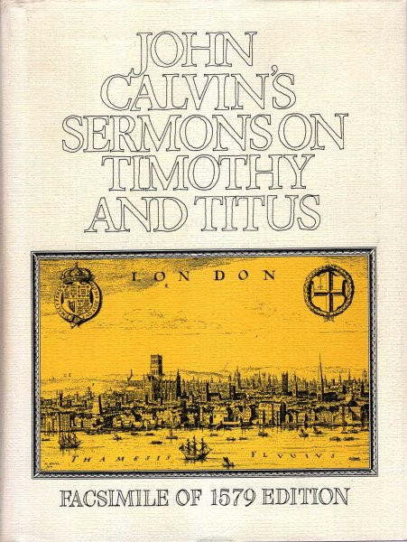 Image for Sermons on Timothy and Titus (16th-17th Century Facsimile Editions)