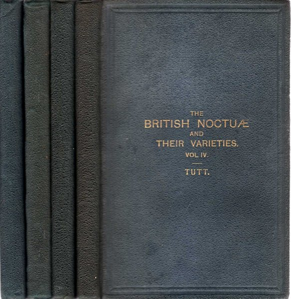Image for The British Noctuae and their Varieties (four volumes complete)