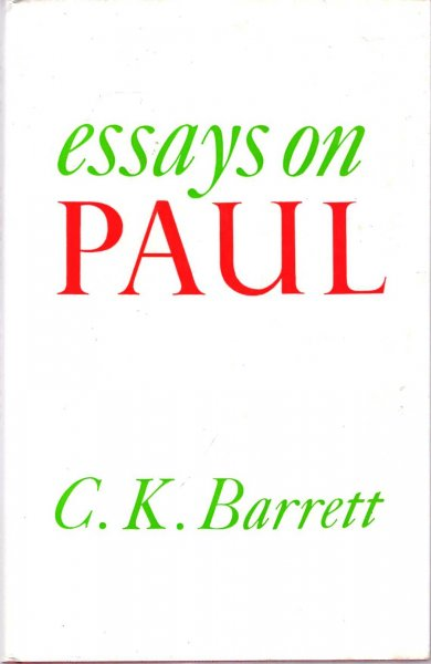 Image for Essays on Paul