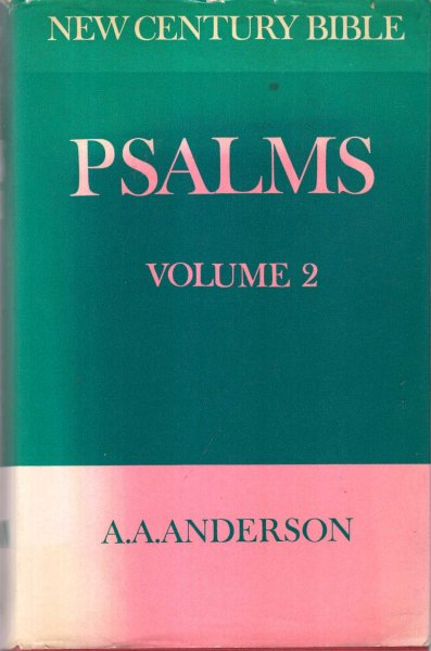 Image for The Book of Psalms: Volume 2 (New century Bible)