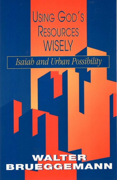 Image for Using God's Resources Wisely : Isaiah and Urban Possibility