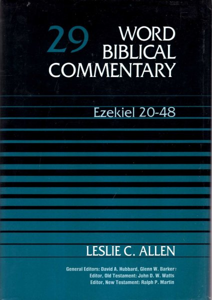 Image for Word Biblical Commentary Volume 29, Ezekiel 20-48