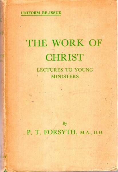 Image for The Work of Christ