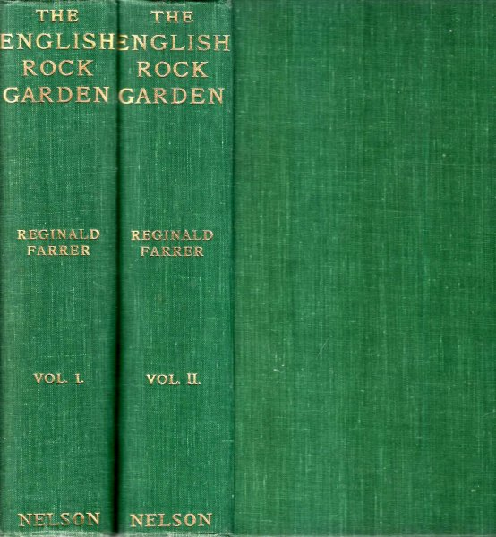 Image for The English Rock-Garden (two volumes)