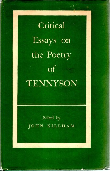 Image for Critical Essays on the Poetry of Tennyson