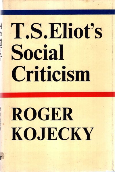 Image for T.S. Eliot's Social Criticism