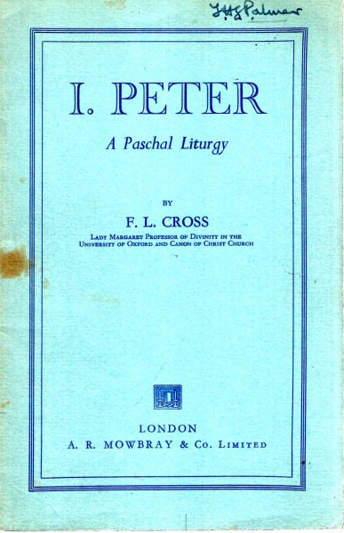 Image for I Peter, a Paschal Liturgy