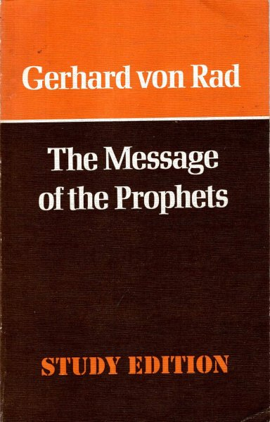 Image for The Message of the Prophets
