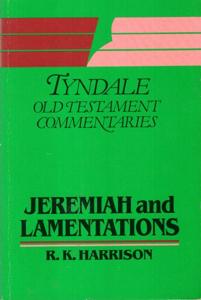 Image for Jeremiah And Lamentations - An Introduction And Commentary (Tyndale OT Commentary)