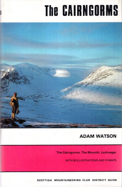 scottish mountaineering club district guide the cairngorms the