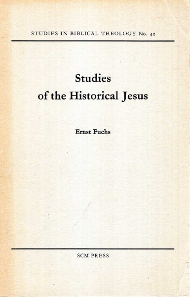 Image for Studies in the Historical Jesus