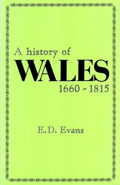 Image for A History of Wales 1660-1815