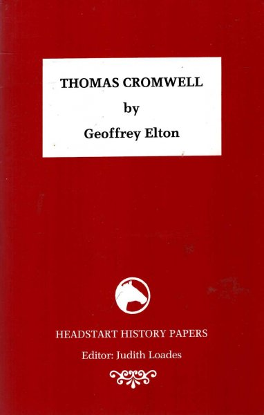 Image for Thomas Cromwell (Headstart History Papers)