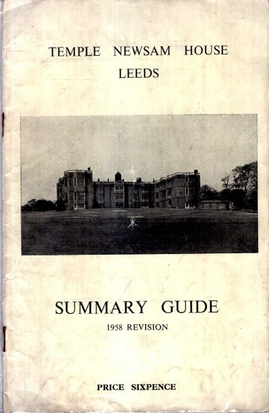 Image for Temple Newsam House Leeds : Summary Guide