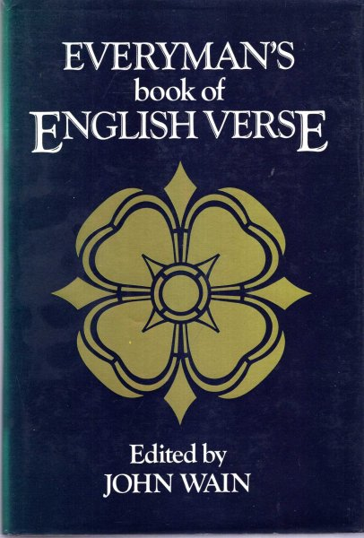 Image for Everyman's Book of English Verse