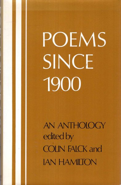 Image for Poems Since 1900: An Anthology