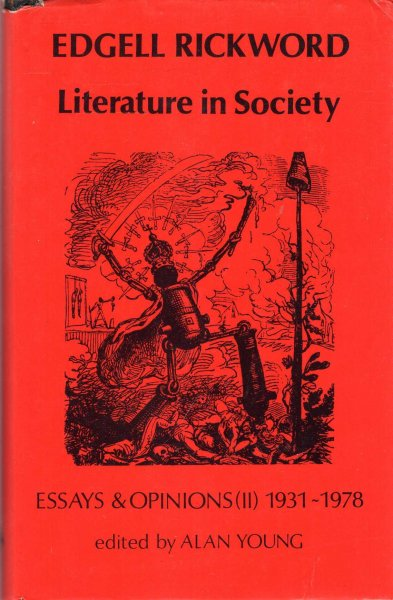 Image for Literature in Society: Essays and Opinions, (II) 1931-1978