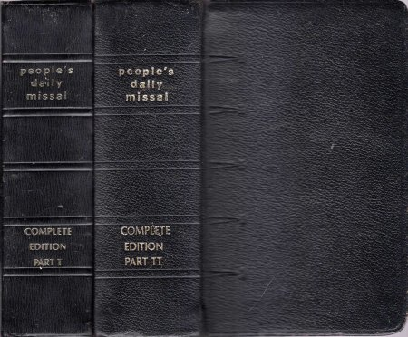 Image for People's Daily Missal : Complete edition (two volumes)