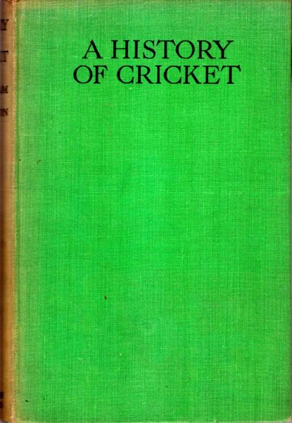 Image for A History of Cricket