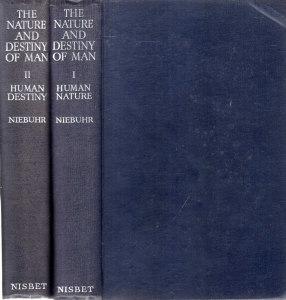 Image for The Nature and Detiny of Man - a Christian Interpretation (two volumes)