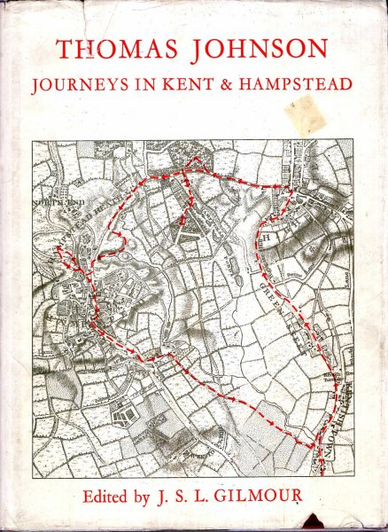 Image for Thomas Johnson - Botanical Journeys in Kent and Hampstead, a facsimile reprint