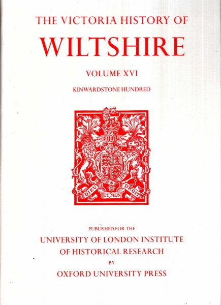 Image for A History of Wiltshire: Volume XVI  Kinwardstone Hundred (Victoria County History)