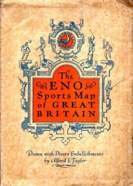 Image for The ENO Sports Map of Great Britain, drawn with divers embellishments