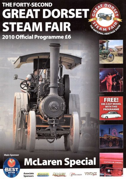 Image for The Forty-Second Great Dorset Steam Fair, 2010 Official Programme