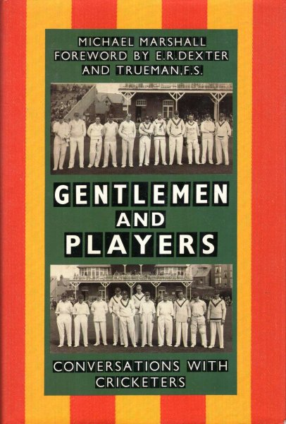 Image for Gentlemen &  Players : Conversations with Cricketers
