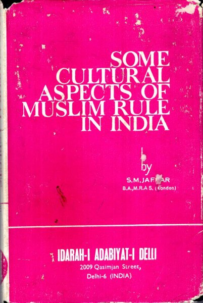 Image for Some Cultural Aspects of Muslim Rule in India