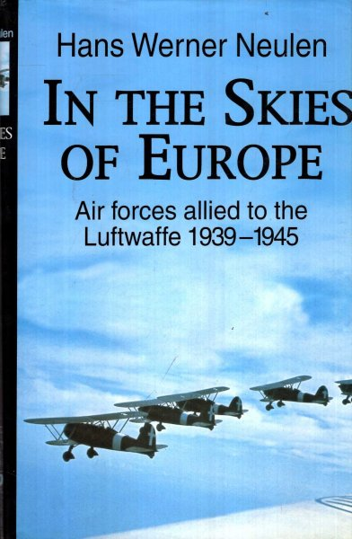 Image for In the Skies of Europe : Air Forces Allied to the Luftwaffe, 1939-1945