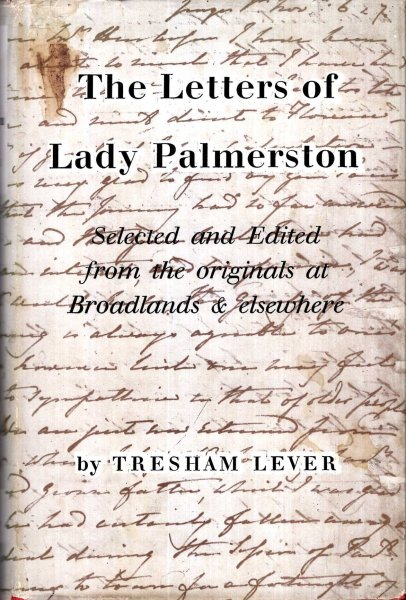 Image for The Letters of Lady Palmerston