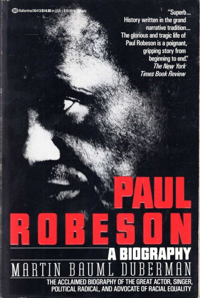 Image for Paul Robeson, a biography