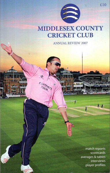 Image for Middlesex  County Cricket Club Annual Review 2007