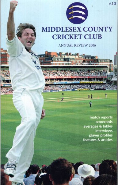 Image for Middlesex  County Cricket Club Annual Review 2006