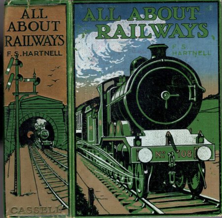 Image for All About Railways - a book for boys