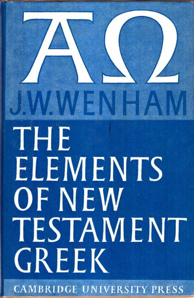 Image for The Elements of New Testament Greek