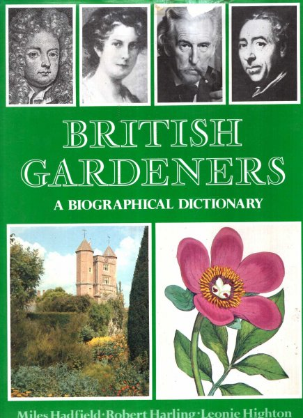 Image for British Gardeners: A Biographical Dictionary